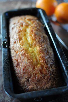 """Le cake à l'orange de Pierre Hermé - La popotte de Manue - testé et approuvé, ce cake est moelleux et plein de goût ! Juste ajouté une pincée de cannelle pour faire + """"Noël"""" A tester version citron !"""