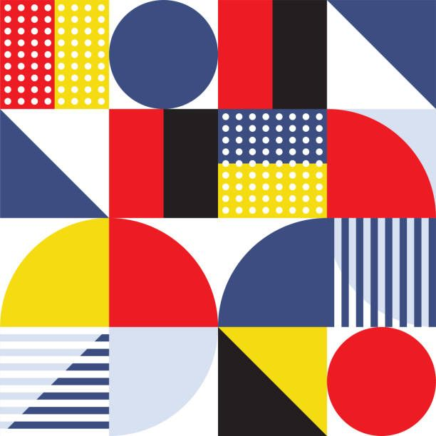 World's Best Bauhaus Art Movement Stock Illustrations ...