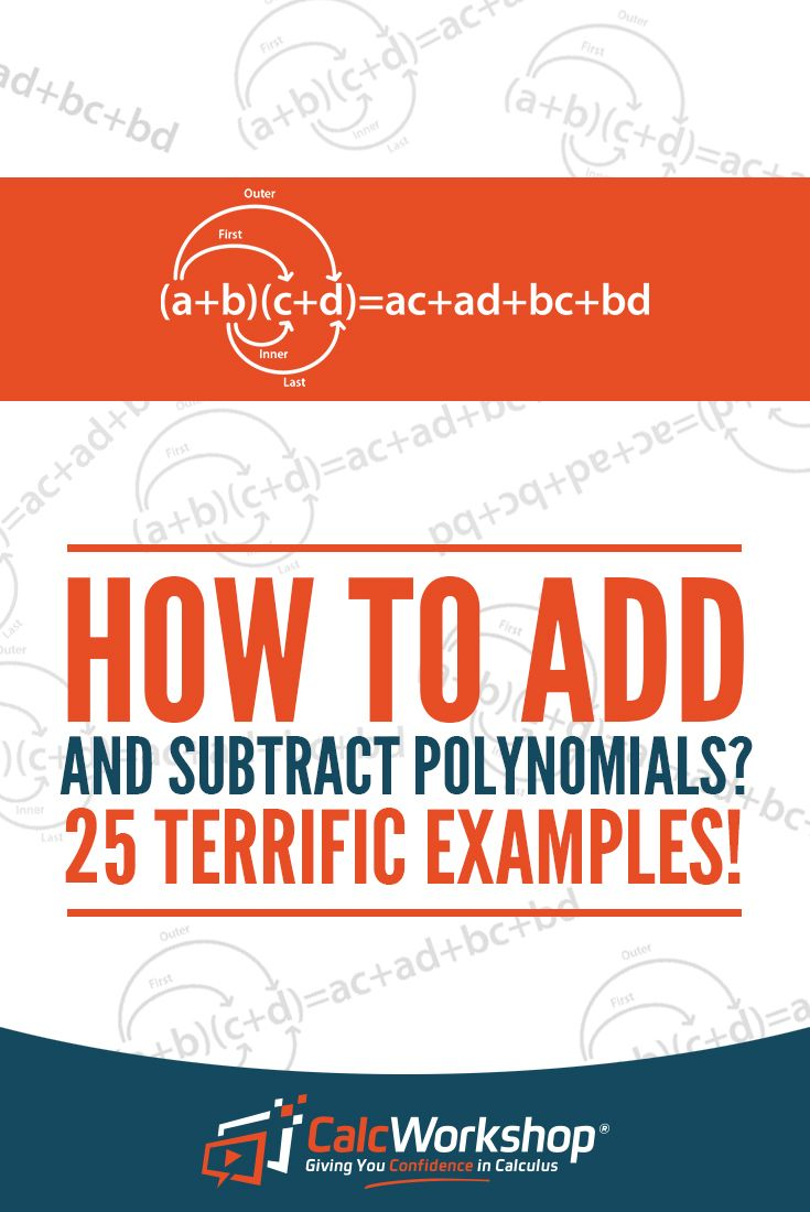 Adding and Subtracting Polynomials. EXCELLENT video lesson that covers classifying, finding the degree, & simplifying polynomials.  With 35 step-by-step examples, you'll have everything you need for your Algebra class. Check out this math lesson today!  #teachingresources #algebra