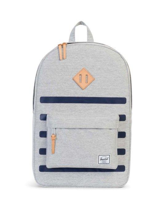 Herschel Heritage Offset Bag Grey | #StyleMadeEasy