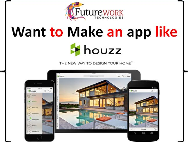 The Houzz platform and mobile apps feature photos, articles, product recommendations, and a user forum if you want to make an app like Houzz, We have written a blog on How Houzz Business and Revenue model Work please review on  it So, click here https://futureworktechnologies.com/houzz-business-and-revenue-model-how-it-works/