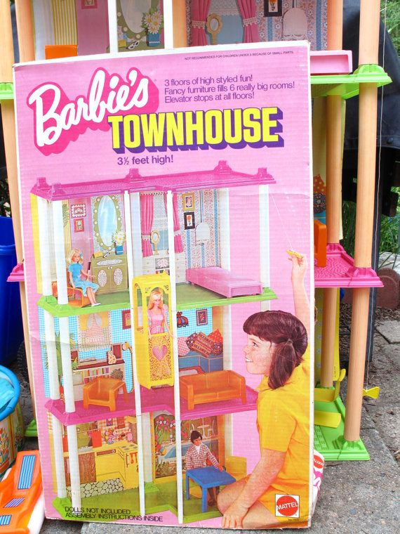 Toys For Grandparents House : The s barbie townhouse and fashion plates these