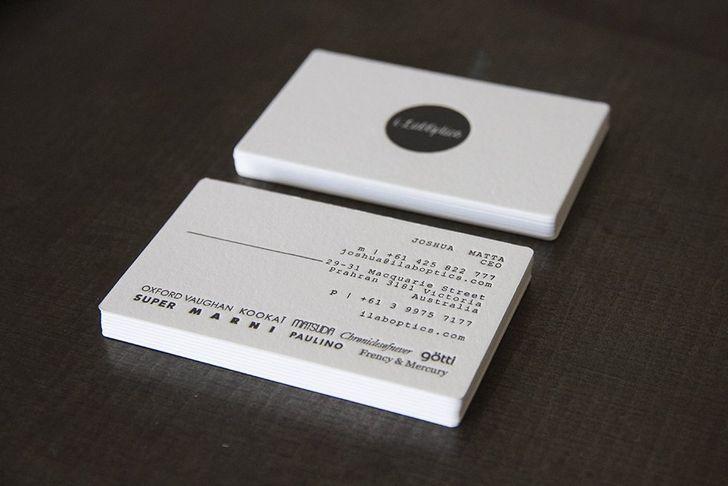 50 Letterpress Business Cards Letterpress Business Card Design Letterpress Business Cards Printing Business Cards