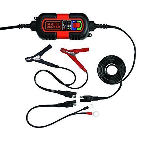 Motorcycle Battery Charger 6V 12V RV Automatic Float Trickle Maintainer Tender #MotorcycleBatteryCharger