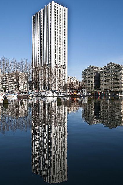 #photo Bassin de la Villette #Paris19 #PEAV @Menilmuche @XavierGolczyk