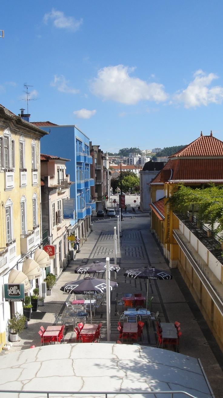 Ruas de Leiria.