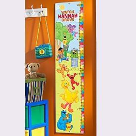 Sesame Gang Growth Chart | Sesame street bedroom, Growth ...