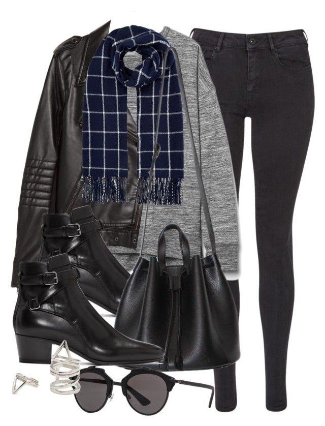 """""""Untitled #11858"""" by vany-alvarado ❤ liked on Polyvore featuring Maison Scotch, Gap, H&M, Accessorize, Yves Saint Laurent, Christian Dior and Forever 21"""