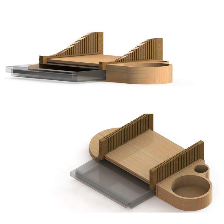 Render model of blind project/ Render de proyecto para invidentes.     Diseño de Comunidad- 4th. Semester.  By: Paola Romero & Yoyi Vergara.