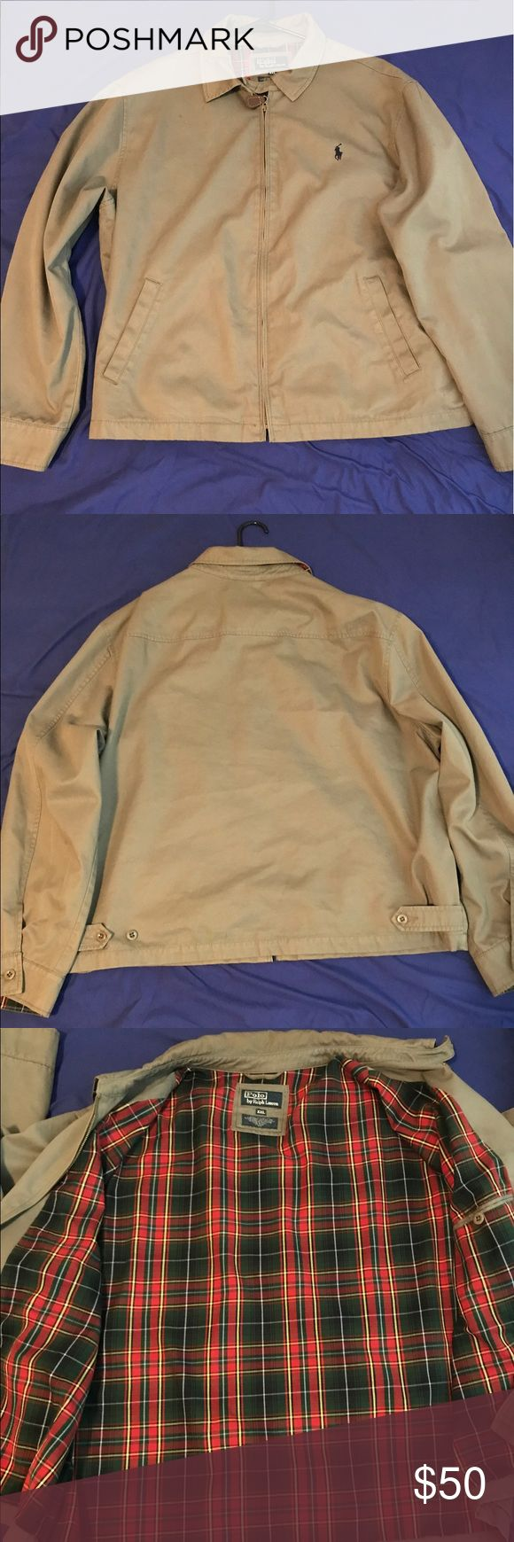 Ralph Lauren Polo Jacket Ralph Lauren Polo Jacket, Worn 10x. Still In good condition. Can be worn inside out fresh prince style. Polo by Ralph Lauren Jackets & Coats Lightweight & Shirt Jackets