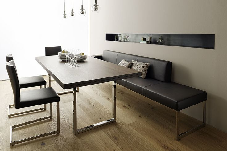 die besten 25 eckbankgruppe modern ideen auf pinterest eckbankgruppe organisch modern und. Black Bedroom Furniture Sets. Home Design Ideas