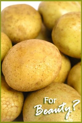 Eco Living: Potato Eye Remedy for puffy eyes- LET'S TRY IT