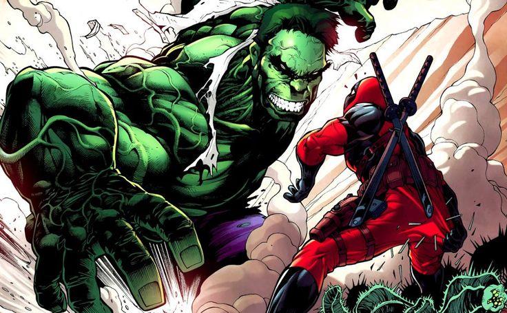 Hulk Deadpool HD Wallpaper