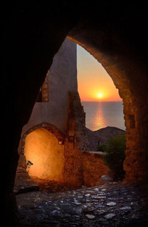 Eternal light _ © Makis Bitos Monemvasia,Greece