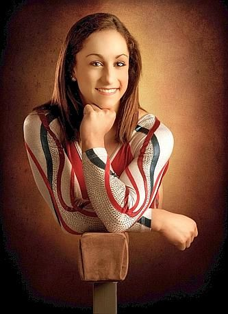 Love this shot of Jordyn Wieber. This would be great for a #senior #gymnast