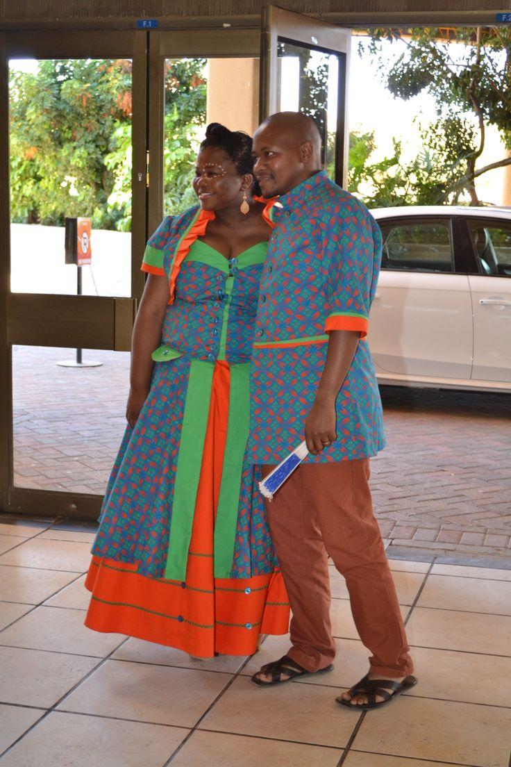 Lovely bright Shweshwe