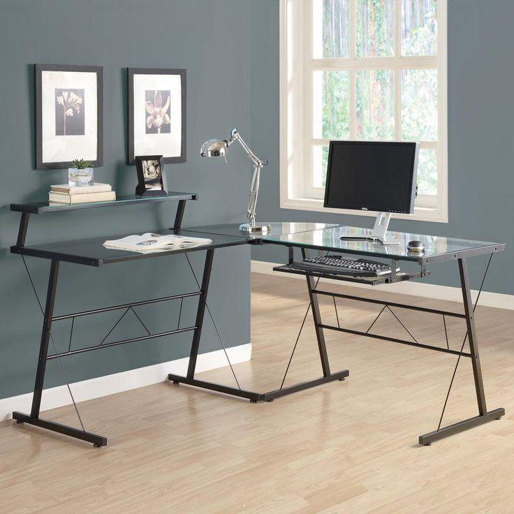 Glass Office Desk Canada Space Saving Desk Ideas Check More At Www Sewcraftyjenn