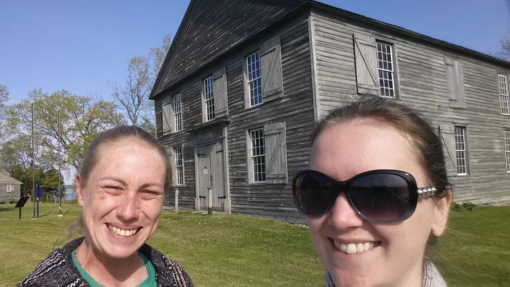 Sarah and Kayla visited the Old Hay Bay Church National Historic Site of Canada — in Napanee, Ontario.