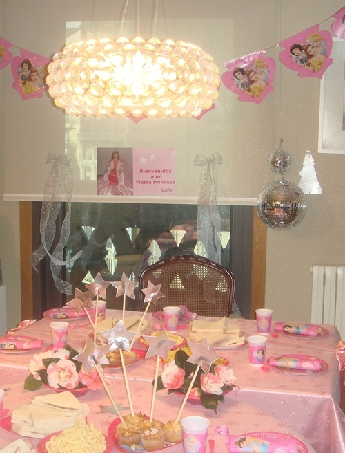 Fiesta infantil de Princesas
