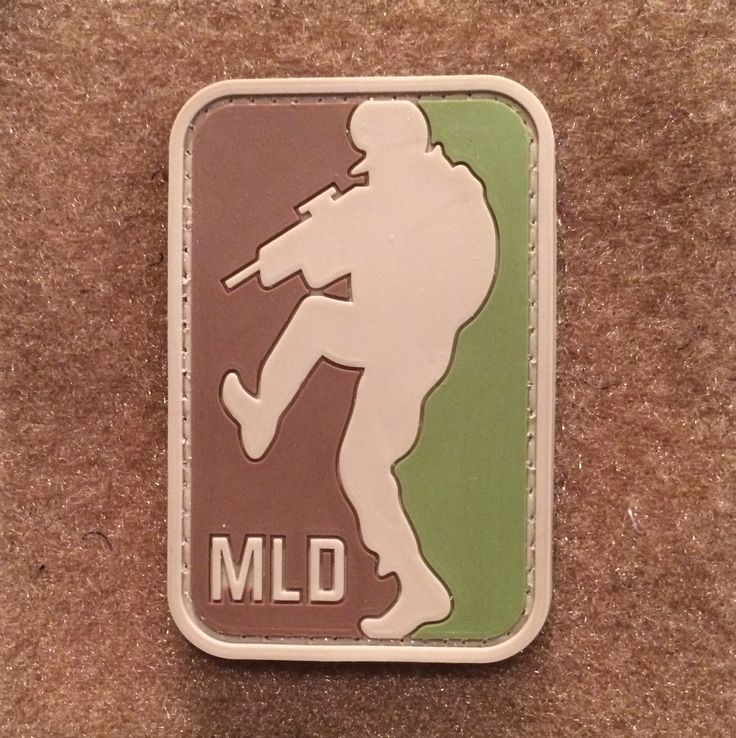 Major League Door Kicker (MLD) PVC Morale Patch