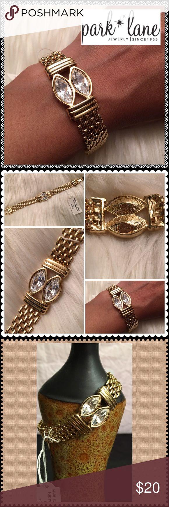 NEW Golden bracelet w/Jewels PARK LANE NEW Golden bracelet w/Jewels PARK LANE Park Lane Jewelry Bracelets