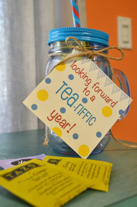 Christmas Gifts For High School Teachers Part - 31: Back To School Gift Idea! Perfect For Teacher. Free Printable! Inexpensive  And Super