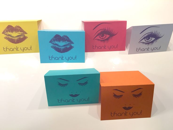Thank You Cards A6, Multi-colored cards, multi-level colored cards with envelopes, Younique Inspired thank you cards A6 format, set of 6 by DesignShopAS on Etsy https://www.etsy.com/listing/285788433/thank-you-cards-a6-multi-colored-cards