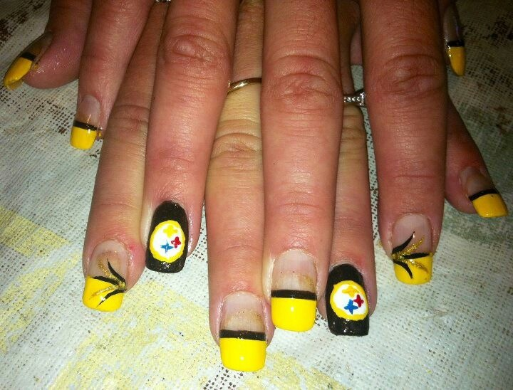 39 best images about STEELERS NAIL on Pinterest   Nail art ...