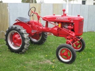 1941 Mccormick Deering Farmall A