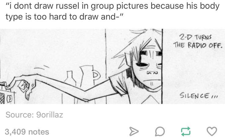 Gorillaz, Russel Hobbs