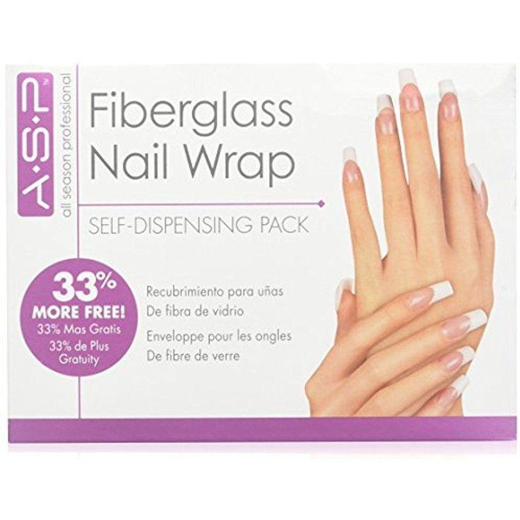 ASP Fiberglass Nail Wrap Strengthens weak, thin nails and repairs broken nail #ASP