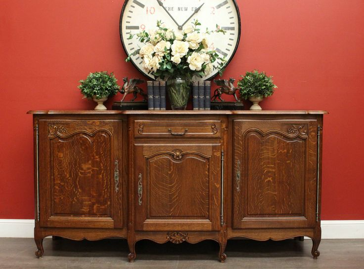*Because* Antique English Mahogany Twin Pedestal 2 Door 3 Drawer Sideboard  Buffet Cabinet | N Á B Y T E K | Pinterest | Buffet cabinet, Sideboard  buffet and ... - Because* Antique English Mahogany Twin Pedestal 2 Door 3 Drawer