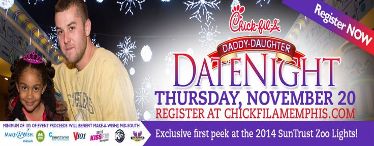 Chick fil a daddy daughter date night