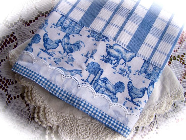 French country kitchen tea towel | Lovely decorative tea tow… | Flickr