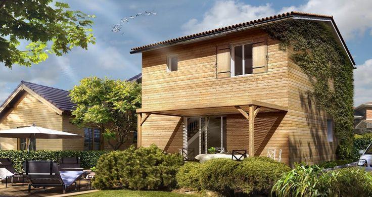 Modèle CITY d'AMI BOIS + INFOS: descriptifs, plans, photos de réalisations sur http://www.ami-bois.fr/?q=node/52