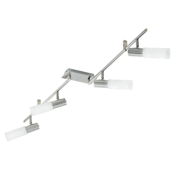 Eglo Samanta 4-Light Matte Nickel Transitional Track Lighting