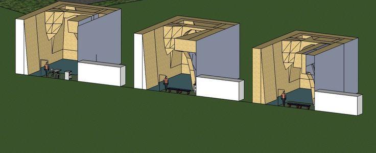 Teremos paredes de escalada consoante o nível de experiência dos clientes