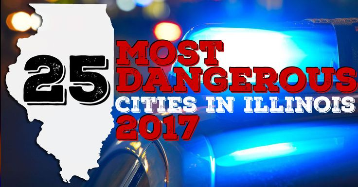 See how your hometown ranks among the 25 most dangerous cities in Illinois.  Ratings have been determined according to the rate of violent crime per 100,000 people with violent crime being classified as murder, rape, robbery and aggravated assault.