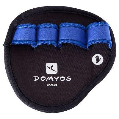 Gants de musculation Fitness, Gym, Danse - Gants Domyos Pad DOMYOS - Fitness, Gym, Danse DARK_BLUE