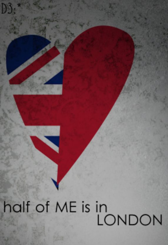 Half of me is in London. As I said, my imagination lives there. It is the place…
