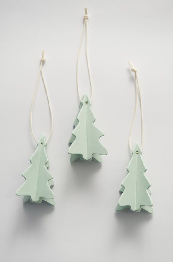 ceramic trees #xmas