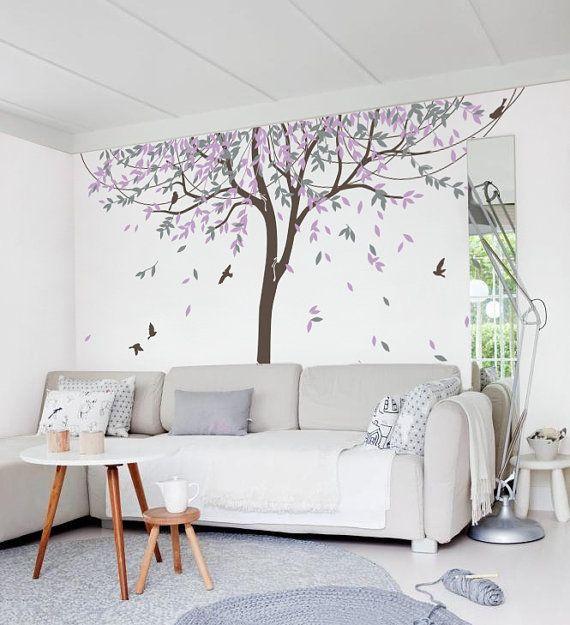 1000 Ideas About Bird Wall Art On Pinterest: 1000+ Ideas About Tree Wall Decals On Pinterest