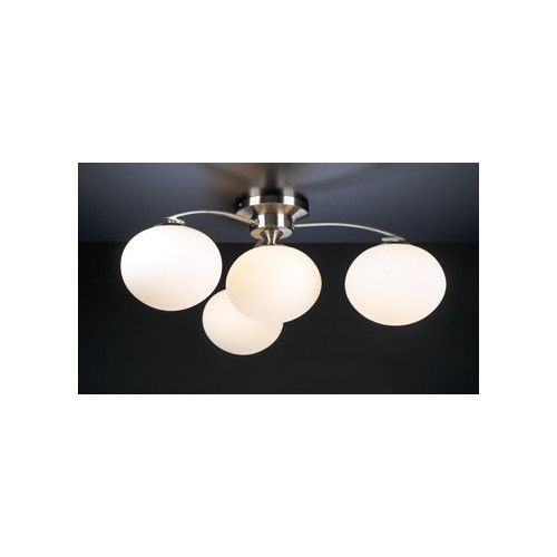 Found it at Wayfair - Aosta 4 Light Semi Flush Mount