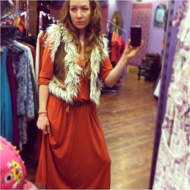 Chakra Dress with Navaho Vest