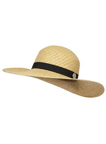 Natural plain weave floppy hat  #DorothyPerkins