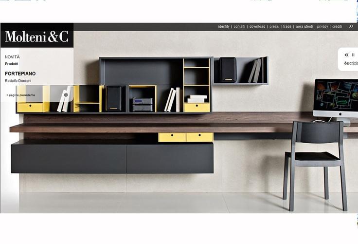 Molteni Desk Home Cabinet Pinterest Desks