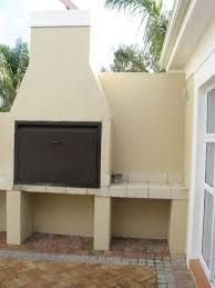 Image result for built in braai