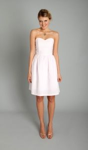 Coren Moore. Style Lauire. Adding it because it comes in Seersucker which is less bridesmaidy so wanted you to see that option. Also comes in a two-tone option (top & bottom in a different colors.)