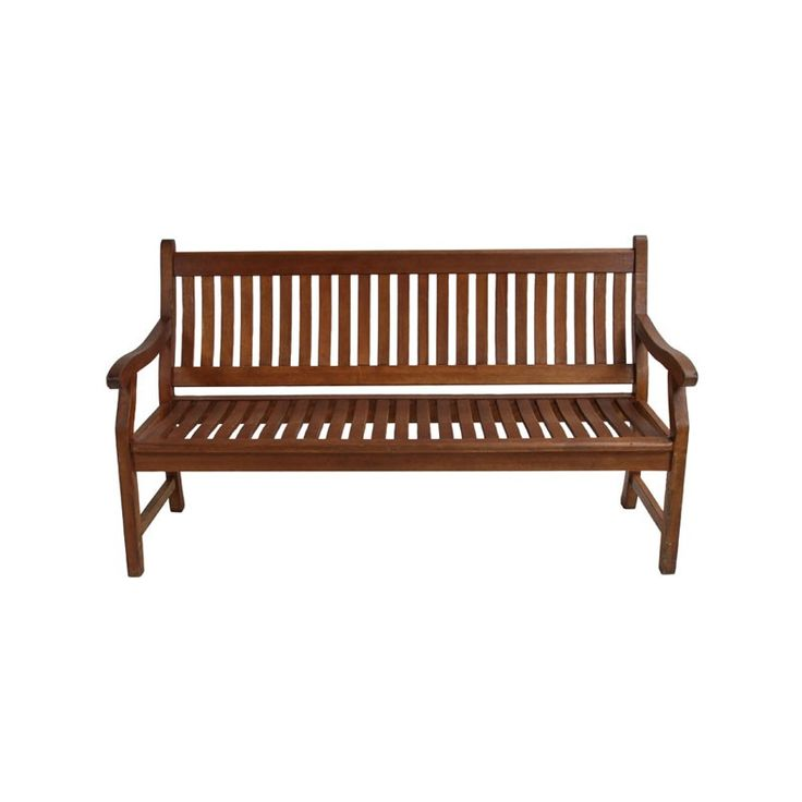 wooden garden bench our traditional dark wooden bench is perfect for seating area at outdoor - Garden Furniture Hire