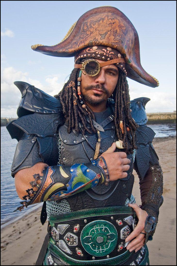 Steampunk Sky Pirate